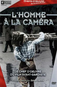 L'homme à la caméra de Dziga Vertov à louer en dvd