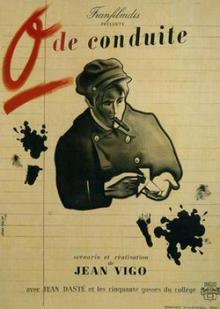 Zéro de conduite et À propos de Nice de Jean Vigo à louer en dvd
