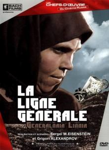 La ligne générale de Sergueï M. Eisenstein à louer en dvd