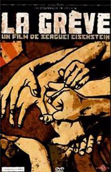 La grève de Sergueï M. Eisenstein à louer en dvd