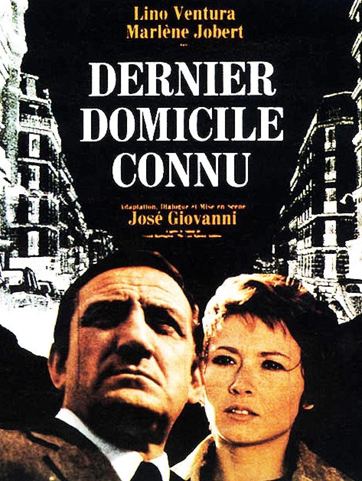 Dernier domicile connu à louer en dvd à Marseille : Dernier